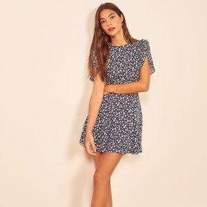 Reformation Violette Elyse Mini Dress